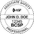 BCSP-ASP - Associate Safety Professional