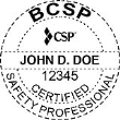 BCSP-CSP - Certified Safety Professional