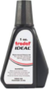 INK-TRO1OZ-BLK - Trodat Self Inking Refill Ink