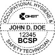 BCSP-OHST - Occupational Hygiene & Safety Technician Seal