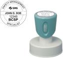 BCSP-SMS-N53 - Xstamper Pre Inked Stamp N-53