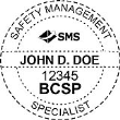 BCSP-SMS - Safety Management Specialist