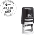 BCSP-STS - 2000 Plus Self Inking R-40